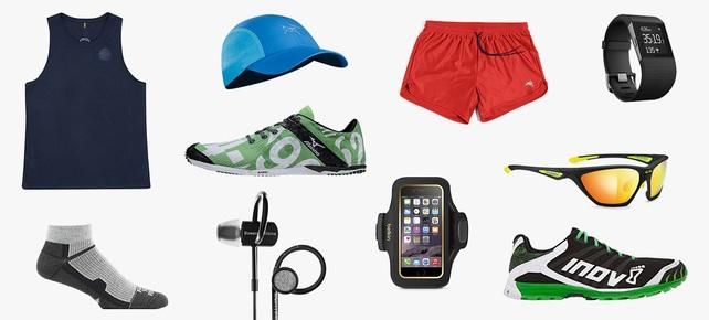 Alle hardloopgear essentials op één afbeelding!